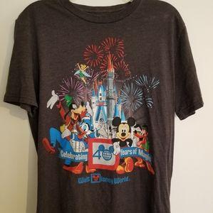 Walt Disney World 40th Anniversary shirt Medium